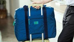 Convenient foldable travel bag, just