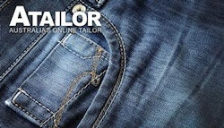 Personally customised Men's hand-made jeans!