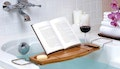 Bamboo Bath Caddy with Extendable
