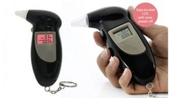 Digital Breathalyser with LCD Display