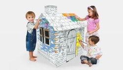 Creative kid's cubby house, just