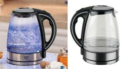 Cordless glass light-up kettles from