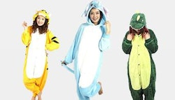 Animal onesie: dinosaur, elephant OR