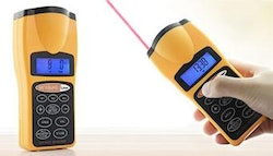 Lightweight ultrasonic distance measuring tool,