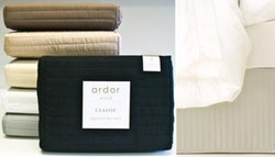 Ardor Home quilted valance, from