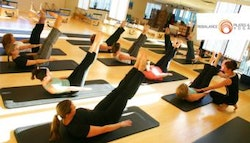 10 Pilates, yoga or barre