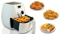 Innovative 2.2L air fryer.