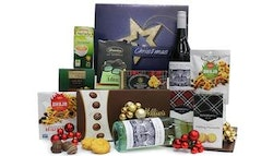 Premium Christmas Hamper with Wine