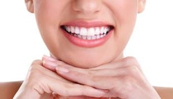 Cosmetic teeth whitening treatment -