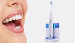 ProMedica ultrasonic toothbrush + replacement