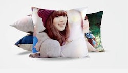 Personalised single-sided photo cushion case
