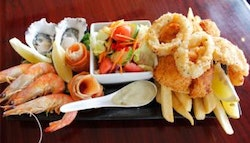 Greenslopes: Hot and cold seafood