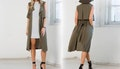 Sleeveless Waterfall Jacket