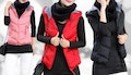 Quilted Puffer Vest with Hood