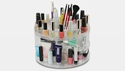 Cosmetic Carousel 360° make-up organiser,