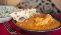 Springwood: Two-Course Indian Dinner for