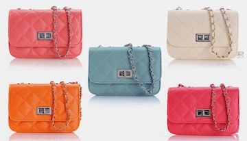 'Quilted' handbag in choice of