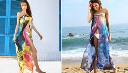 Summer sarong beach dress, $19.