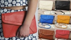 Envelope cross-body bag, $19.
