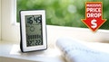 Digital alarm clock weather station,