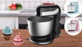 Six-Speed Stand Mixer + Stainless