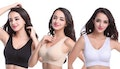 Three-Pack of Seamless Zero Bras