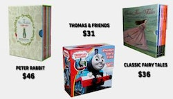 Children's book packs! Choose Thomas