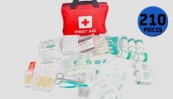 210 piece emergency first aid