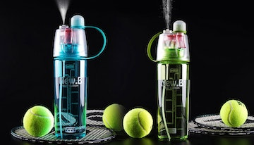 Sports Water Bottle with Mist