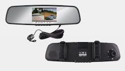 In-car DVR & rear-view mirror
