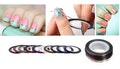 20-Pack of Nail Art Strips