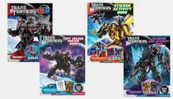 Transformers book pack - colouring,