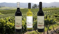 Six bottles of Stockman wine,