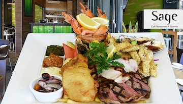 Meat & seafood platter for
