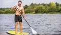 Caloundra: One-Hour Paddle Board Hire.