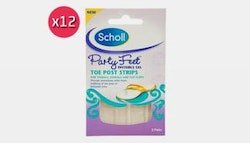 Scholl Party Feet (x12) -