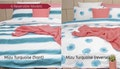 Ardor Printed Reversible Quilt Cover