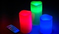 LED Candle Set with Remote