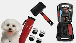 Pet grooming clipper kit, just