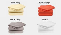 100% microfibre sheet set.
