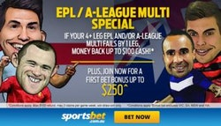 Sportsbet promotion: Up to $100