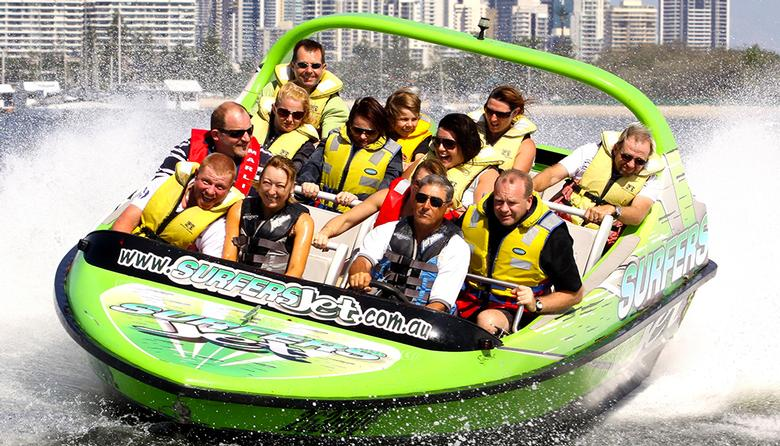 One-Hour Extreme Jet Boating for