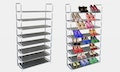 Eight-level shoe rack – organise