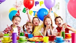Party package for eight children