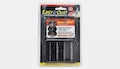 Four-piece damaged-screw extractor set, $10