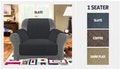 Sure Fit suede couch protector,