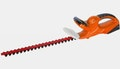 High-power cordless hedge trimmer, for